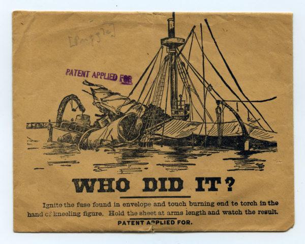 Il 15 febbraio 1898 la corazzata Maine della Marina USA salta il aria nel porto dell'Avana