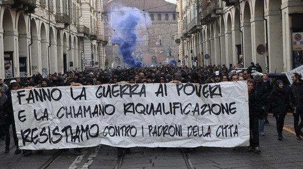 A Torino il quartiere Aurora è terreno di conquista