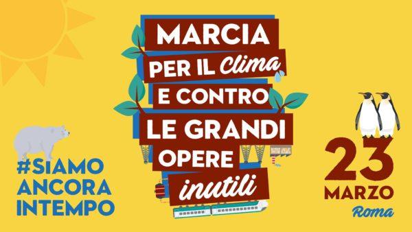Contro il cambiamento climatico. A Roma in piazza il 23 marzo