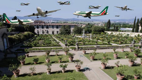 L'Accademia della Crusca e l'Aeroporto di Firenze sono molto vicini. Non solo fisicamente