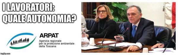 """Arpat, la denuncia dei lavoratori: """"In ritardo sulle questioni ambientali. Carenti di autonomia causa Regione Toscana"""""""