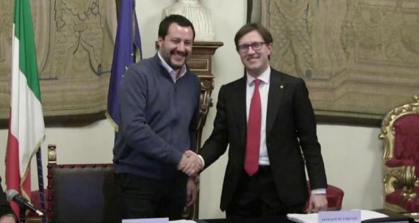 Con la Zona Rossa di Nardella e Salvini a Firenze muore lo Stato di diritto