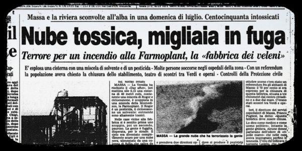 """Farmoplant di Massa, la """"Bhopal"""" italiana che continua a vomitare veleni nelle falde"""