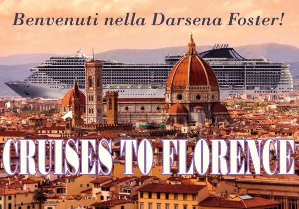 Arrivano le grandi navi a Firenze