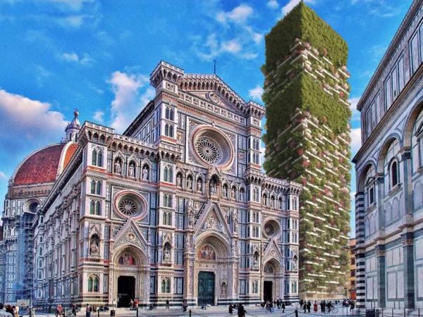 """""""Firenze sarà verdissima"""". Il campanile di Giotto diventa """"green"""""""