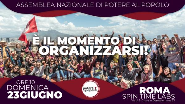 23 Giugno: Assemblea Nazionale di Potere al Popolo!