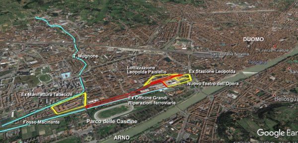 Ex Scali ferroviari, anche a Firenze l'interesse pubblico è vinto dalla speculazione