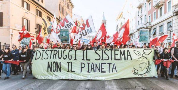 """Clima, Potere al Popolo: """"In Toscana la politica ha scelto la finzione verde pur di non cambiare rotta"""""""