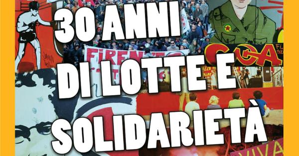 CPA: 30 anni di lotte e solidarietà