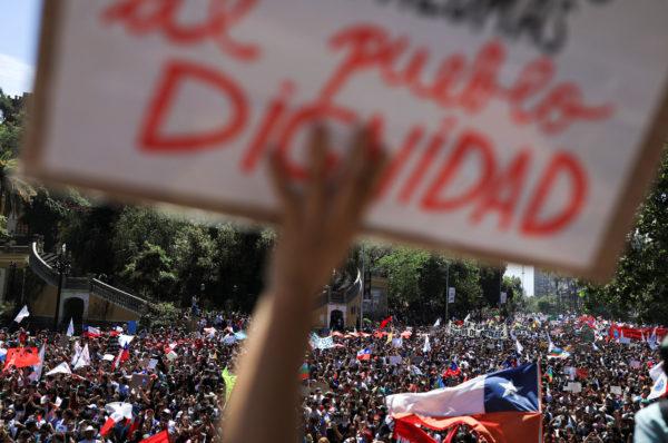 Siamo col Cile che resiste!