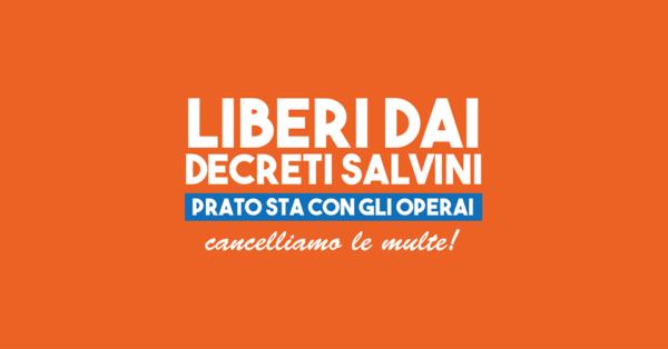 Protestare non è reato: dalla Superlativa di Prato parte mobilitazione contro il Decreto Sicurezza