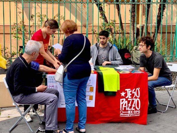 Un ecografo per l'ex-OPG di Napoli. Campagna di solidarietà per ambulatorio popolare