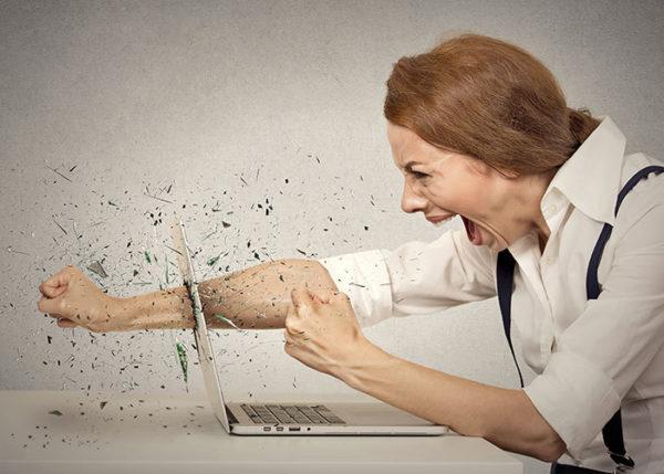La rabbia digitale