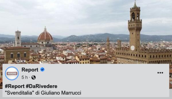 Report a Firenze con perUnaltracittà, ecco il video della speculazione in corso