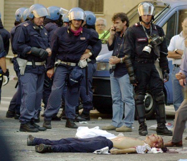 20 luglio 2001 Carlo Giuliani, ragazzo
