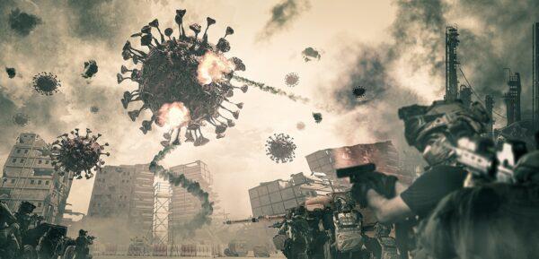 La guerra, il nemico e il virus: cos'è che non va